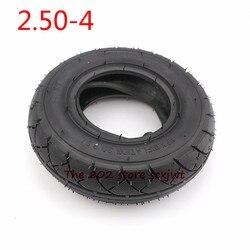 Аксессуары для мотоцикла 2,50-4 внутренняя внешняя шина 2,80/2,50-4 Трубная шина для электрического газового скутера, колеса для коляски