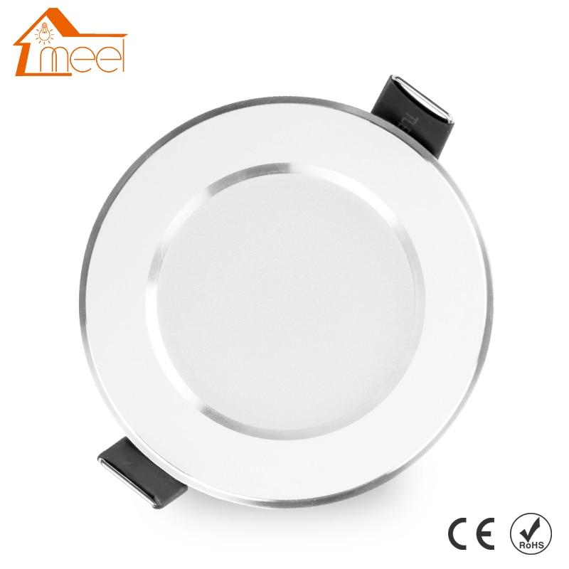LED Downlight 3W 5W 7W 9W 12W 15W 220V 240V Round LED Lamp Ceiling Light Indoor Lighting Bedroom Kitchen LED Spot Lighting