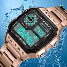 PANARS спортивные мужские часы цифровые G стильные часы водонепроницаемые Роскошные брендовые деловые мужские наручные часы ударные часы мужские часы