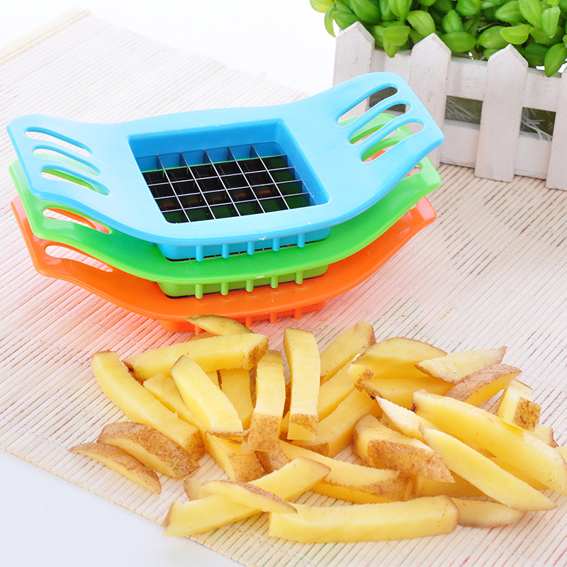 Gadgets Potato Cutting Device Cut Fries Kit French Fry Yarn Cutter Potato Carrot Vegetable Slicer Chopper Kitchen Accessories