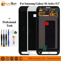 Tested For Samsung Galaxy S6 active G890 G890A LCD Display Touch Screen Digitizer Assembly Original For Samsung S6 Active Lcd
