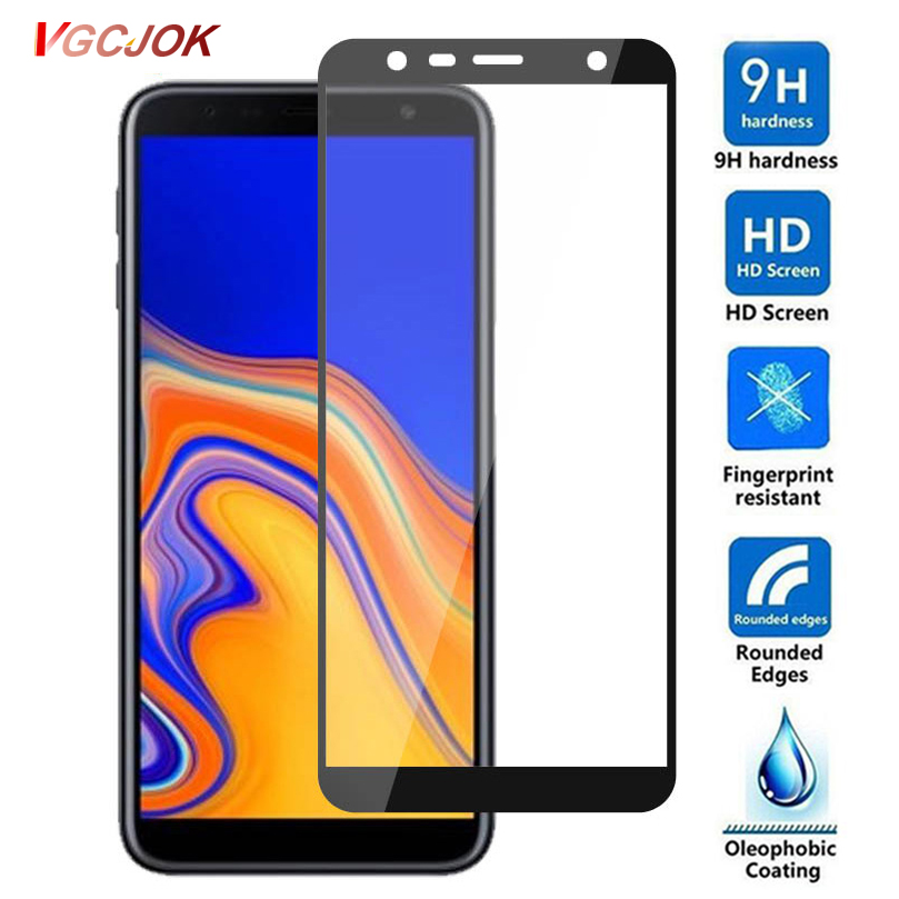 9D Protective Glass For Samsung Galaxy J2 J3 J4 J6 J7 J8 2018 Tempered Glass For Samsung J4 J6 Plus 2018 S6 S7 Screen Protector