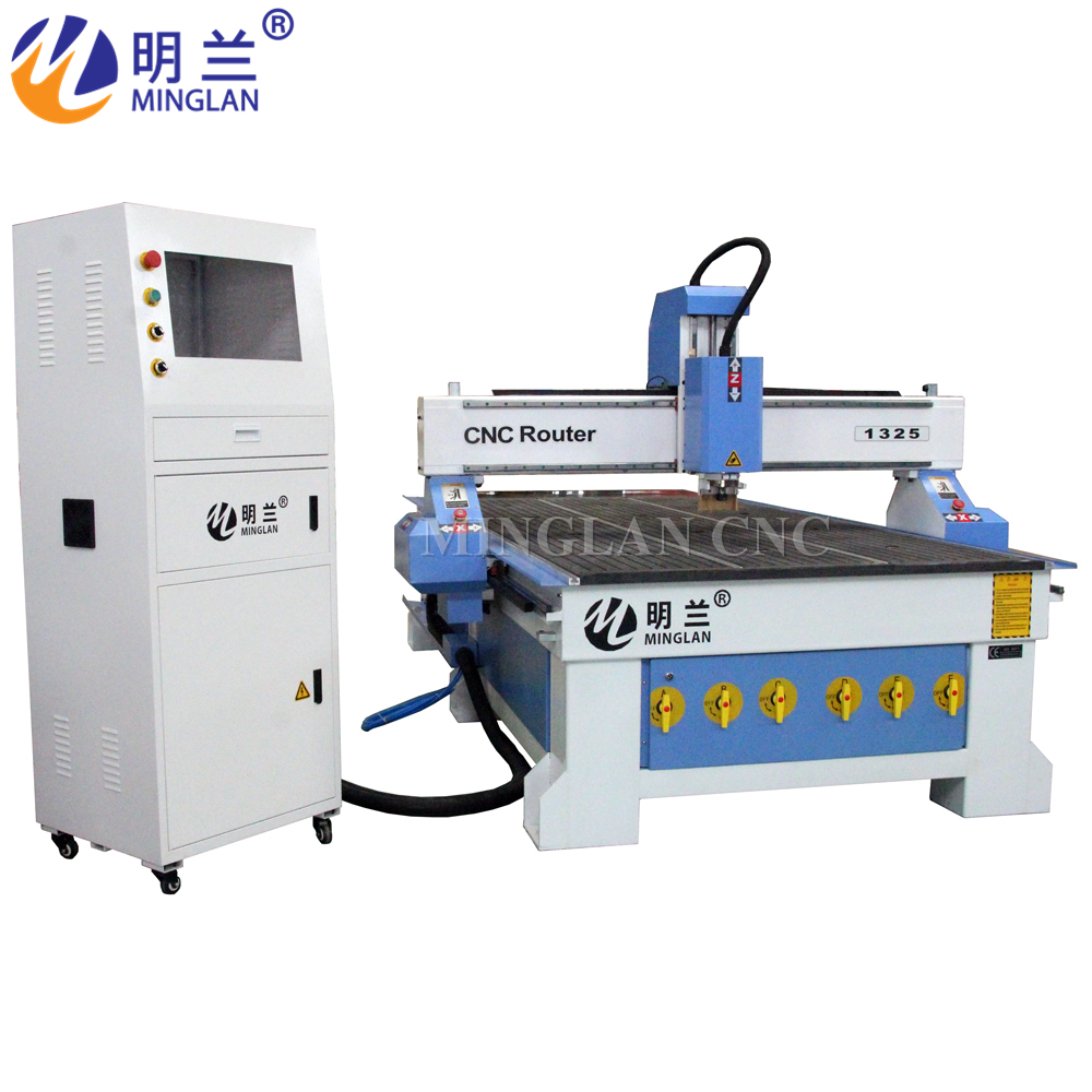 China 1325 Cnc Woodworking 4 Axis Sculpture Cnc Router For Metal Engraving Machine 3D/aluminum Cnc Milling Machine For Wood