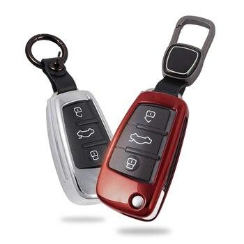 Lsrtw2017 Zinc Allo coche llave de Control remoto para Audi A4 A6 Q5 A5 A8 Q7 accesorios interiores