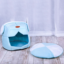 Foldable Cat Tent Warm Winter Pet Dog Semi-closed House Nest Soft Sleeping Mat Pad New Hot