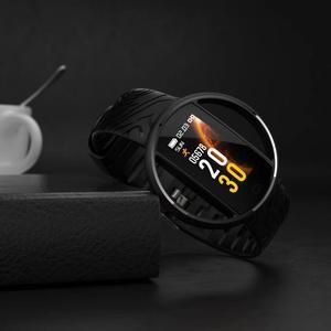 Image 2 - LIGE Nuove Donne Astuto Della Vigilanza Degli Uomini di IP68 Impermeabile di Sport di Fitness tracker Multifunzionale LED di Tocco di Colore Smartwatch Montre homm + Box