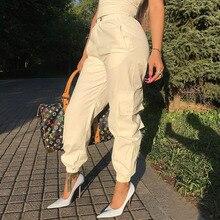5 Colori Raccomanda Super Buona Usura Multi Tasca Granuli Panno di Lavoro Elastico in Vita Chiuso Pantaloni Sportivi