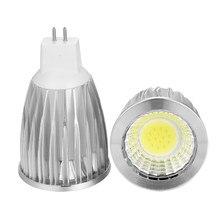 1x lampada de alta potência led mr16 cob 9 w 12 15 led cob spotlight branco fresco 16 12 v lâmpada gu 5.3 /110 v/220 v