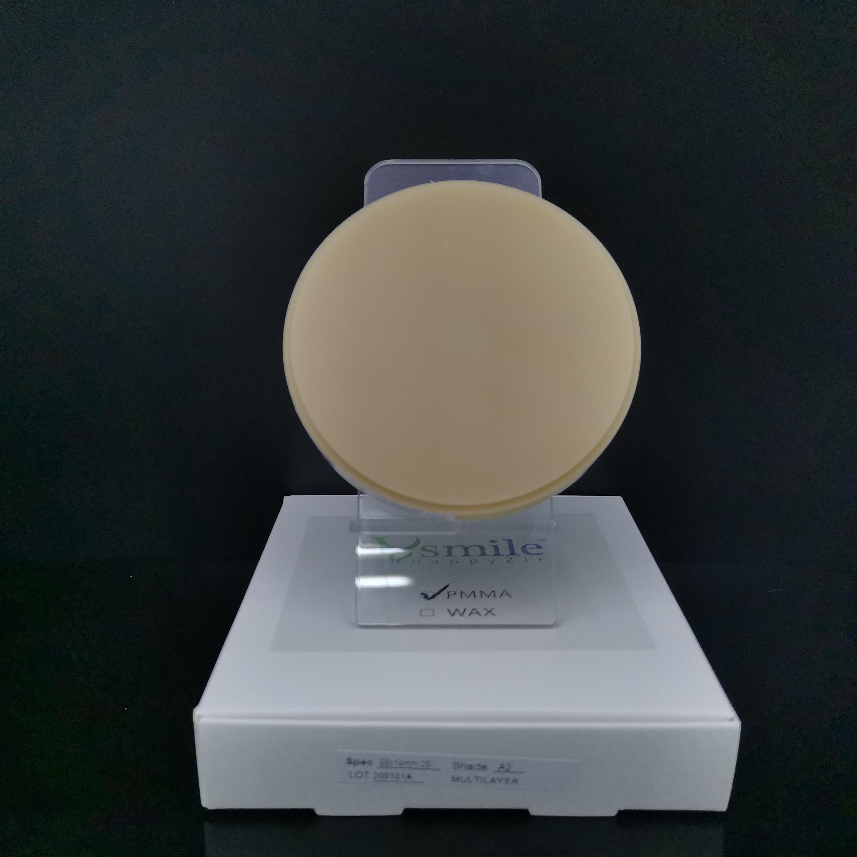 o disco acrilico dental pmma 98mm 04