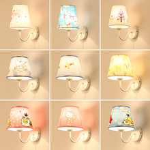 Children's Room Wall Lamp Modern Simple Creative Cartoon Princess Boys and Girls Creative LED Lamps wall lamp  led wall light