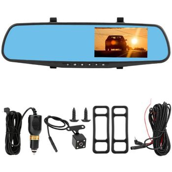 4 inch 1080P Dash Cam Car DVR Camera Recorder Auto Motion Detection Rearview Mirror Night Vision Drive Recorder