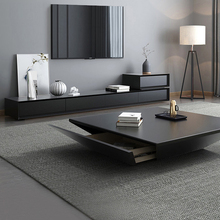 Tv-Stand Cabinet Table Wooden Mueble Tv Living-Room Centro Coffee Modern Home Mesa Matte