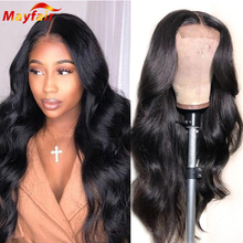 28 Inch 13x4 Lace Front Wig Body Wave Lacefront Frontal Human Hair 4x4 Bodywave Closure Wigs Pre Plucked for Black Women