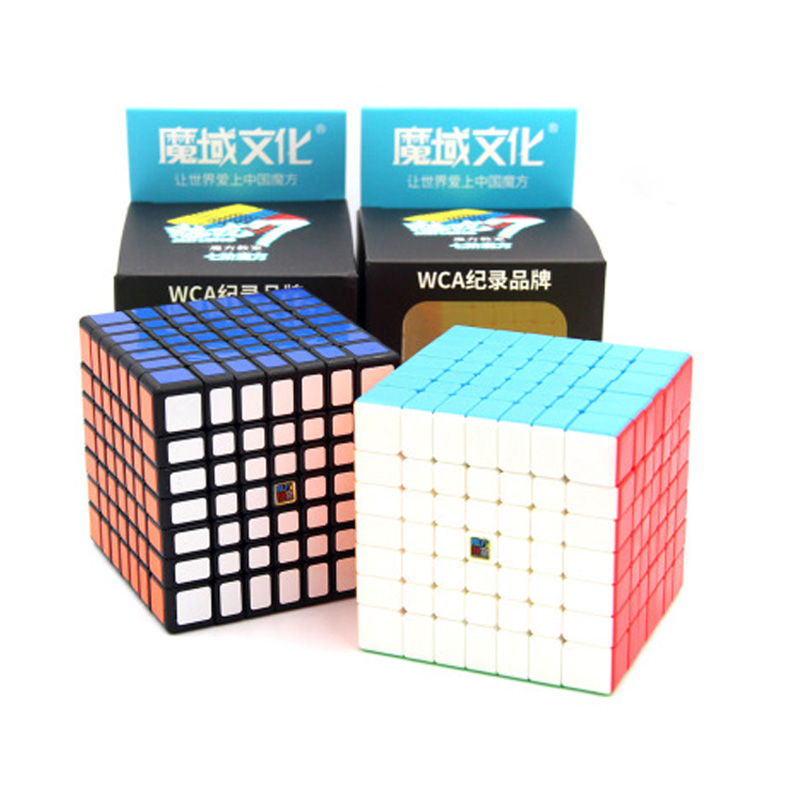Moyu MeiLong 7x7x7 Magic Cube Professional Brain Puzzle Speed 66mm 7x7 Cubos Magico Educational Game Children's Cube Toy Gift