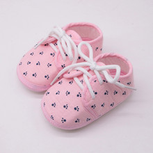 2020 Summer Newborn Shoes Baby Girls Shoes Letter Footprint Plaid Anti-slip Footwear Crib Shoes Baby Boy Small Toddler Shoes