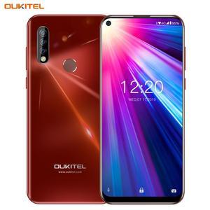 Image 5 - OUKITEL C17 6.35 potrójne kamery smartfon MT6763 Octa Core z systemem Android 9.0 3GB 16GB Face ID linii papilarnych 4G telefon komórkowy 3900mAh