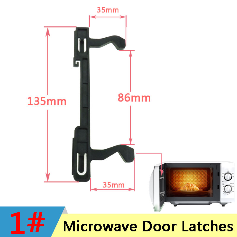 Microwave Hook Door Latches For Samsung