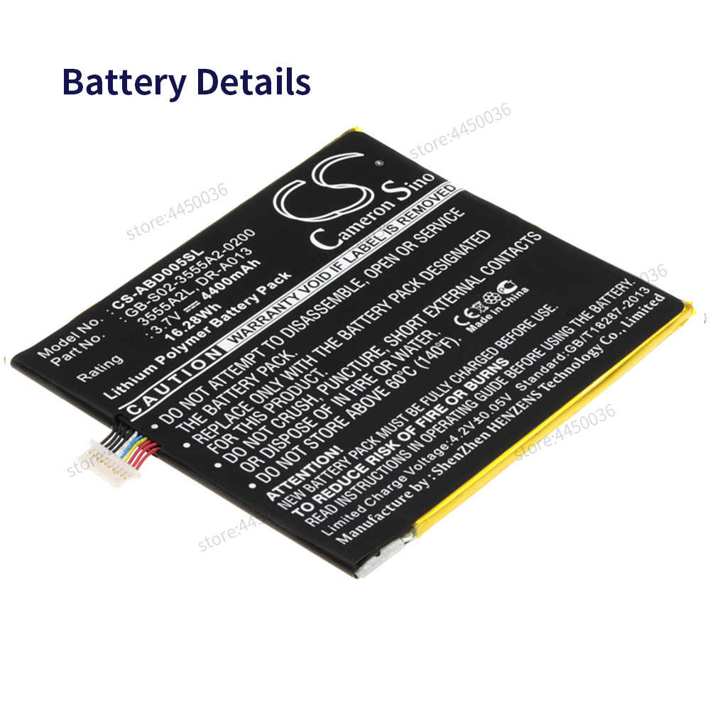 Battery For Amazon Kindle D40 40mAh Battery Original Replacement  Battery for Kindle Fire D40
