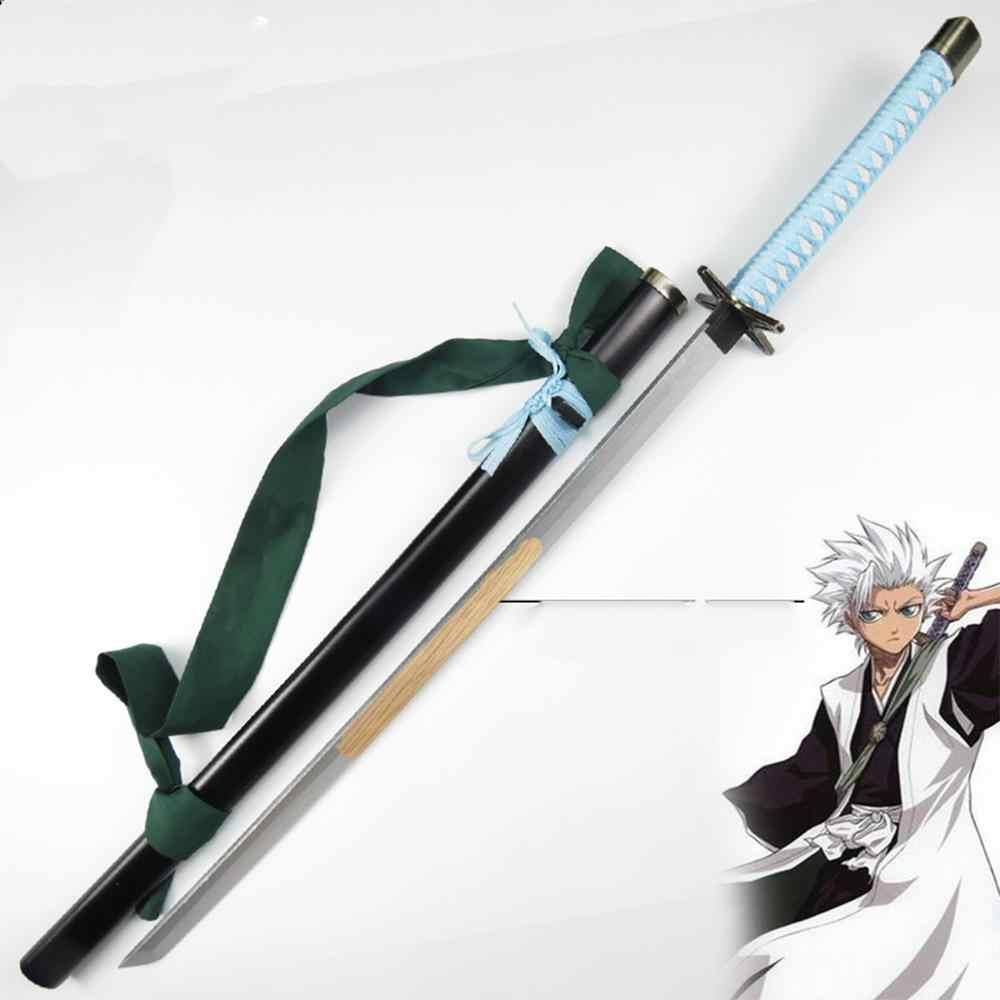 Di alta Qualità Bleach Hitsugaya Toushirou Hyourinmaru Katana Prop Samurai Spada Arma Di Legno Lama 100 CENTIMETRI Cosplay Prop