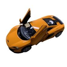 1/36 RMZ city diecast Mclaren model car matt coated anti-drop for collection boys presents