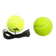 Теннисные Мячи спортивный пояс сетевой шнур инструмент тренировочный мяч эластичная резинка, ленточка теннисные мячи для начинающих одного человека теннис