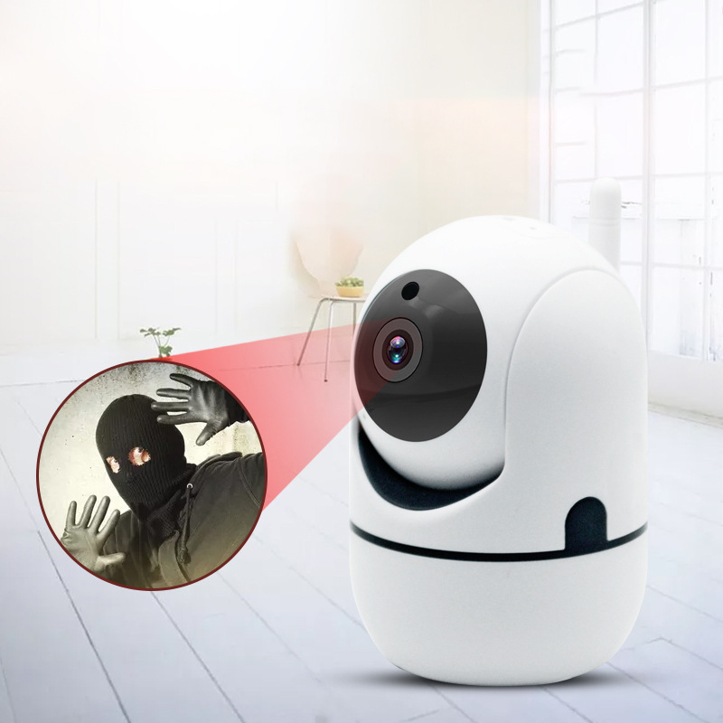 Wireless Video Baby Monitor Color Security Camera 2 Way Talk NightVision IR LED Temperature Monitoring Anti Thief Camera