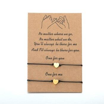 Bracelet pour Couple Coeur