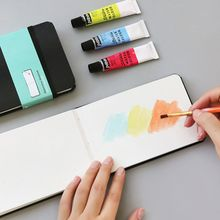 Art-Supplies Watercolor Book Paper Painting Hand-Book Sketch Portable Travel A6 Y51A