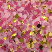 10 г/пакет смешанные Цвета круглый ткани конфетти в горошек рождественские украшения заполнения воздушных шаров для свадьбы, помолвки на де...