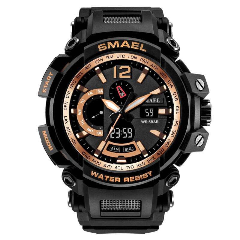 Smael Simaier Watch Motion Outdoors Waterproof More Function Popular Men Electronic Creative Watch