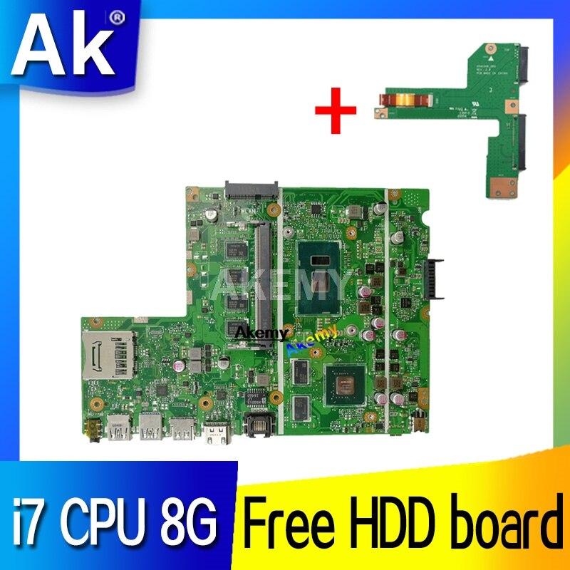For Asus X541uj X541uv X541u X541 X541uvk X541uqk Laptop Motherboard Test Original Mainboard 8g I7 Cpu Free Hdd Board Laptop Motherboard Aliexpress