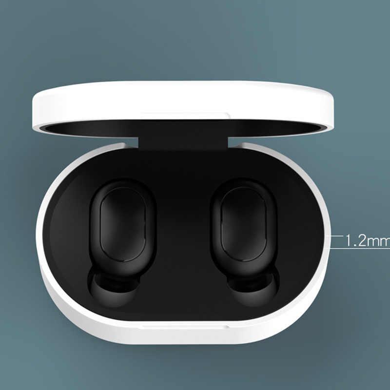 Bluetooth kulaklık kılıfı kutusu silikon koruyucu kapak kablosuz kulaklık şarj kutusu Xiaomi için Airdots Redmi için Airdots