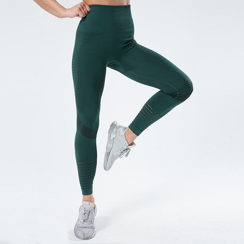 Women Fitness Leggings Push UP High Waist Legging Women Sexy Breathable Feamle Workout Leggins Mujer 4