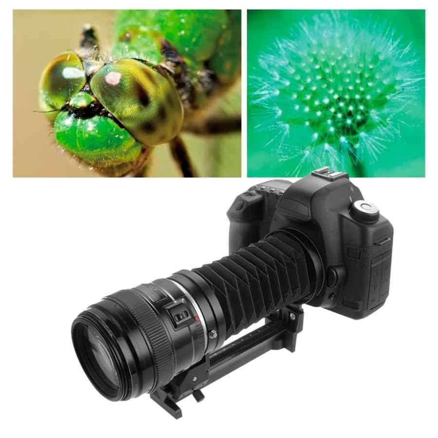 กล้องมาโครขยายหลอดเลนส์ขาตั้งกล้องขยายสำหรับ Sony NEX สำหรับ EOS EF Mount กล้องโฟกัส