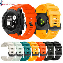22mm Sports Watch Silicone Band Wristband Strap for Garmin Instinct Strap Replacement Wristband Strap Smart Wrist Band Strap(China)