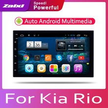 ZaiXi Car Android System 1080P IPS LCD Screen For Kia Rio Rio5 Xcite 2005~2011 Car Radio Player GPS Navigation BT WiFi AUX цена 2017