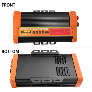 Image 5 - 인버터 12V 220V 12000 와트 피크 6000W 자동 수정 사인파 전압 변압기 태양 광 인버터 변환기 자동차 충전 USB