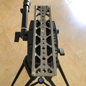"""Image 3 - 10"""" dovetail plate 15mm lightweight plate for Tilta 15mm baseplate BMPCC 4K 6K SONY A7S3 A7S2 A7 Camera Cage use"""