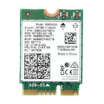 Двухдиапазонная Wi-Fi карта Intel AC 9560 9560NGW NGFF 1,73 Гбит/с BT5.0 CNVI M.2