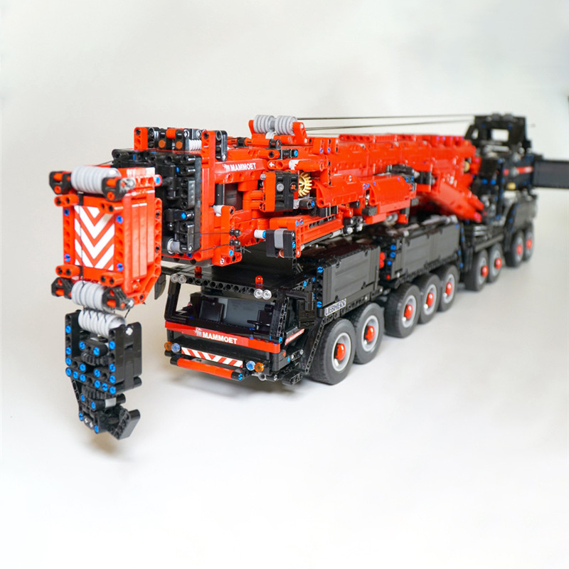 2020 NEW Power Mobile Crane Building LTM11200 RC Technic Motors Kits Blocks Bricks Fit For MOC 20920 Birthday Children Gift