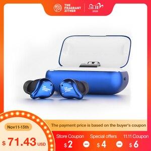 Image 1 - Tfz X1 Tws Bluetooth 5.0 Koptelefoon, Tuur Draadloze Oordopjes Stereo 100 + Uur Intelligente Ruisonderdrukking
