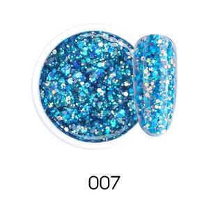 Image 3 - Beautilux 1Pcพราวประกายสายรุ้งเล็บเจลPolish Soak Off UV LEDเล็บArt Glitter Bling Rose Gold Silverเจล10G