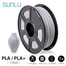 цена на SUNLU PLA/ PLA+ 3D Printer Filament Non-blocked Nozzle High Quality Filament 1.75mm 1kg DIY Digital Drawing For FDM 3D Printer