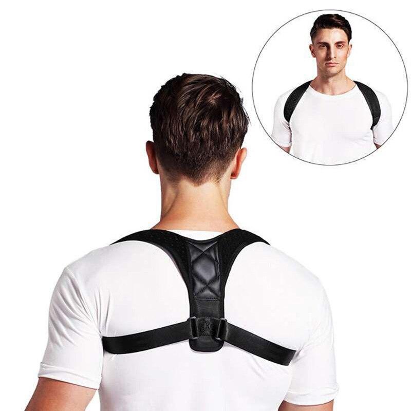 Back Posture Corrector Belt Brace Support Belt Adjustable Clavicle Spine Back Shoulder Lumbar Posture Correction