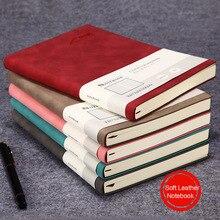 А5, мягкая кожаная обложка, Библейский блокнот, милый планировщик, ежедневник,,, недельный планировщик, для путешественников, простой блокнот, для студентов, школьников