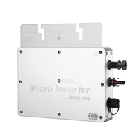 Comprar https://ae01.alicdn.com/kf/H15196bfefdcc43a4bee84d4f19af398cx/Inversor Solar inalámbrico rejilla Micro GTI Wechselrichter WVC 300 wasserditch MPPT 300 W 230V resistente al.jpg
