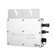 Drahtlose Solar-wechselrichter Grid Tie Micro GTI Wechselrichter WVC 300 Wasserdicht MPPT 300 W 230V Wasserdicht