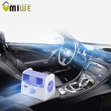 Car Mini Cooler Cooling Fan Silent Leafless Air Conditioning Refrigeration Wind Portable Electric Fans Home Office