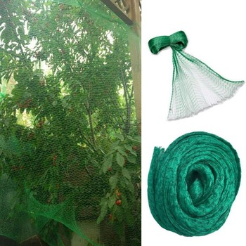 5*10M Anti-Bird Netting PE Crops Flower Garden Mesh Pond Fruit Tree Vegetables Protection Net Pest Control