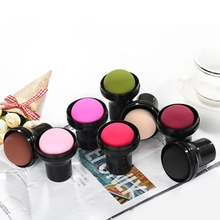 7 colors Makeup Sponge Cute Mushroom Head Wet And Dry Dual Use Powder Puff With Tamp Box powder puff Apply to daily/fixed makeup